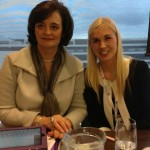 Cherie Booth QC and SINEAD KANE IBA event
