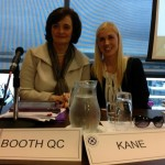 Cherie Booth QC and Sinead Kane