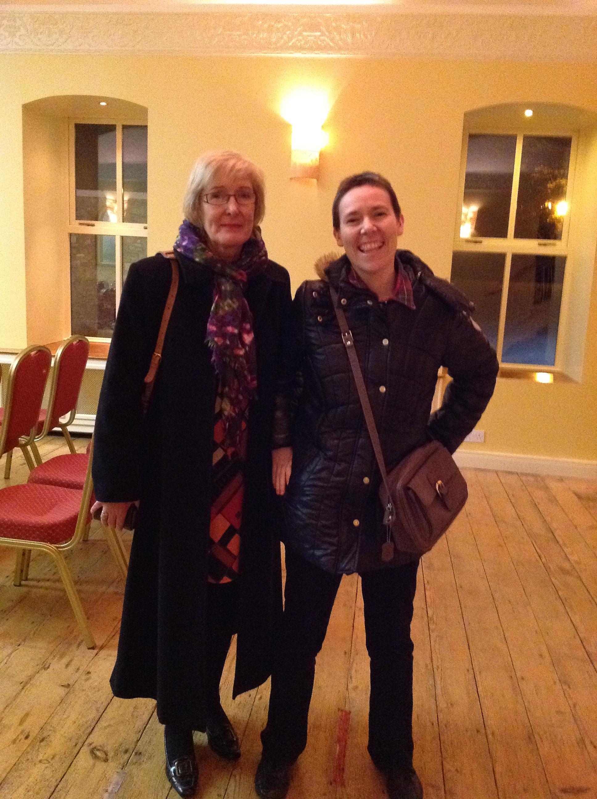 Nessa and Patricia Delany