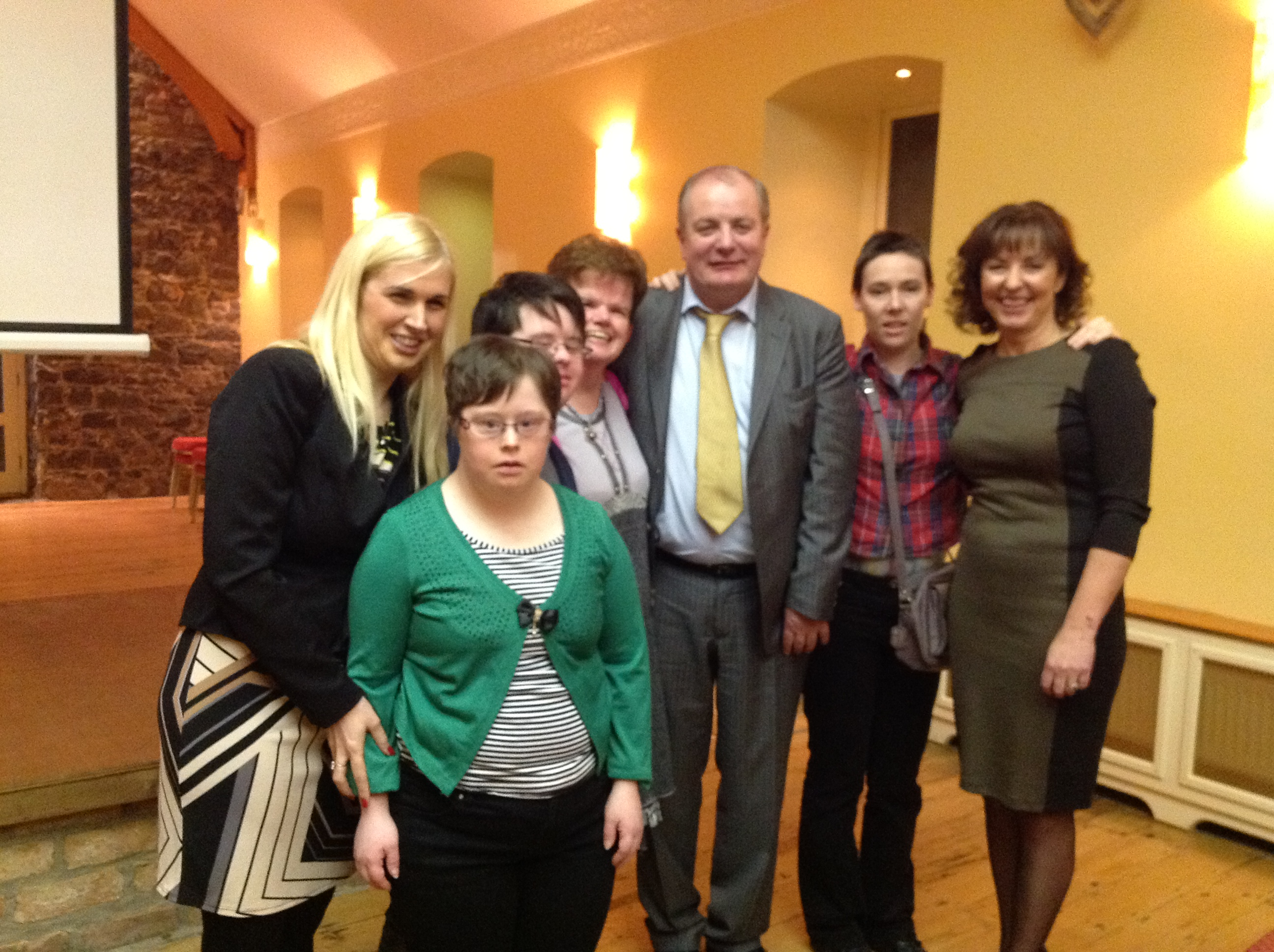 Sinead Kane, Gavin Duffy, Orlaith Carmody and participants