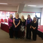 Sinead Kane with Access and Disability Officers