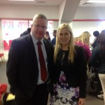 Sinead Kane with Dr. Fergal Barry at the Better Options event jpg