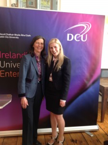 Professor Mona O'Moore and Sinead