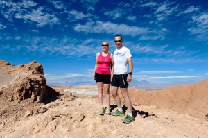 Sinead and John Volcano marathon