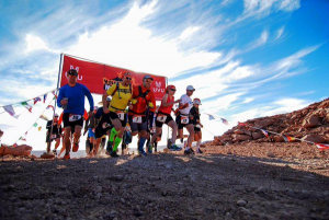 Volcano Marathon start line