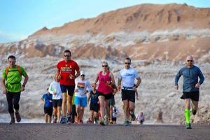 Volcano marathon acclimatising run