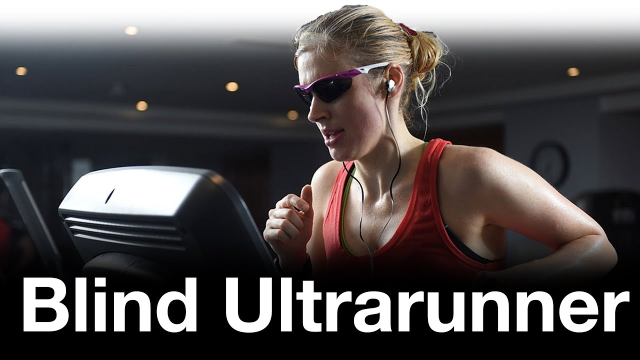 Blind ultrarunner